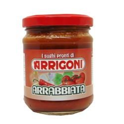 Sugo Pronto all'Arrabbiata Arrigoni 180gr € 0.60